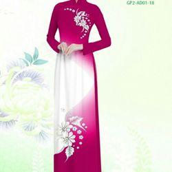 Vải áo dài thiết kế - AD-001-16 giá sỉ
