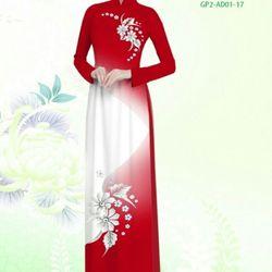 Vải áo dài thiết kế - AD-001-17 giá sỉ