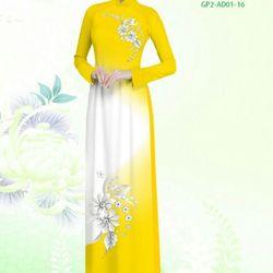 Vải áo dài thiết kế - AD-001-18 giá sỉ