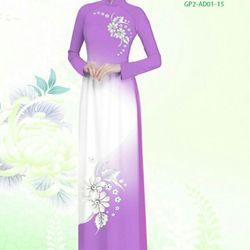 Vải áo dài thiết kế - AD-001-19 giá sỉ