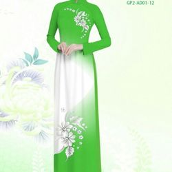 Vải áo dài thiết kế - AD-001-20 giá sỉ