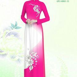 Vải áo dài thiết kế - AD-001-21 giá sỉ