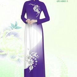 Vải áo dài thiết kế - AD-001-6 giá sỉ