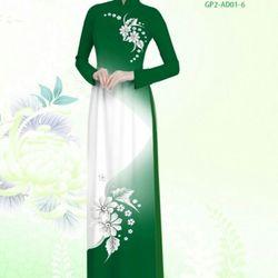 Vải áo dài thiết kế - AD-001-7 giá sỉ
