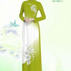 Vải áo dài thiết kế - AD-001-8 giá sỉ