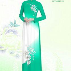 Vải áo dài thiết kế - AD-001-11 giá sỉ