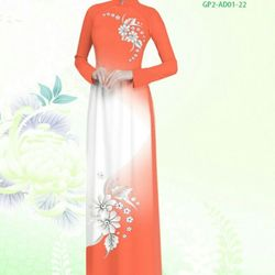 Vải áo dài thiết kế - AD-001-14 giá sỉ
