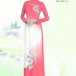 Vải áo dài thiết kế - AD-001-15 giá sỉ