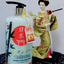 Dầu Gội Collagen Nhật Bản 900ml