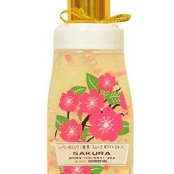 Shower Gel SAKURA 400ML- Cánh hoa tan trên da