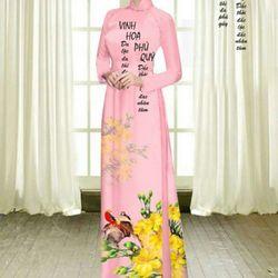 Vải áo dài thiết kế - 6-100-2 giá sỉ