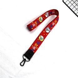 móc khóa dây đeo cổ đỏ mèo phát tài chữ giá sỉ