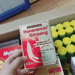 Homnaramin Ginseng Vitamin tổng hợp Sâm giá sỉ