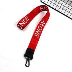 móc khóa dây đeo cổ đen snow giá sỉ