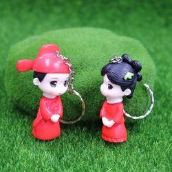 móc khóa cặp cô dâu chú rễ trung giá sỉ