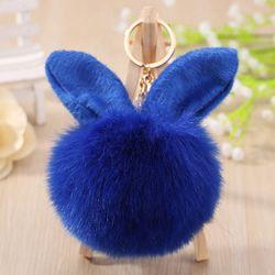 móc khóa thỏ lông xanh bảo thạch giá sỉ