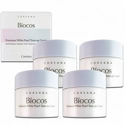 Biocos premium white Pearl tone up cream hủ nhỏ 10g - kem làm trắng da chống lão hoá giá sỉ giá bán buôn