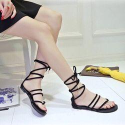 giày sandal cột dây cute giá sỉ