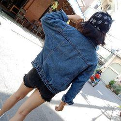 Áo khoát jean nữ bo giá sỉ