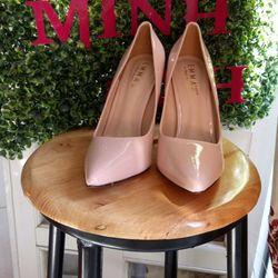 giày cao gót màu hồng cao 11p giá sỉ