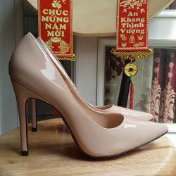 giày cao gót màu nude cao 11p giá sỉ