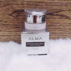 Kem Whitening Day Cream Alma dưỡng trắng da ngăn ngừa lão hóa chống sạm nám ban ngày giá sỉ