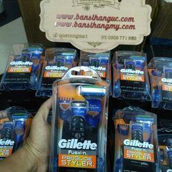 Bộ Máy Cạo Râu Gillette Fusion ProGlide Styler 3 in 1 Chạy Pin - Úc