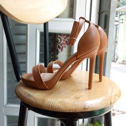 sandal gót 11p độn mũi giá sỉ