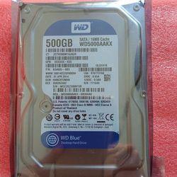 Ổ cứng HDD destop 500GB Western giá sỉ