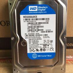 Ổ cứng HDD destop 320GB Western mới giá sỉ