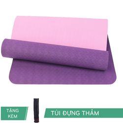Thảm Tập Yoga TPE Relax 6mm 2 Lớp giá sỉ
