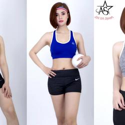 Áo bra thể thao nữ phối viền kèm mút- AR3 giá sỉ