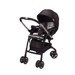 Xe đẩy trẻ em Aprica Luxuna Dual CTS Coordy Black giá sỉ