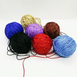 Dây dù 1mm đan vòng handmade đủ màu giá sỉ