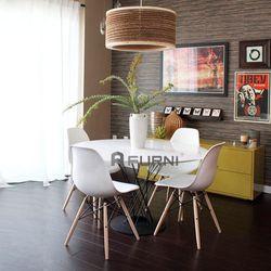 Bộ bàn ghế tiếp khách văn phòng đẹp hiện đại TK CYCLONE DSW giá sỉ