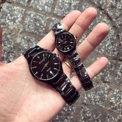 Đồng hồ dây kim loại cặp giá sỉ