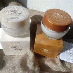 Combo bộ kem dưỡng ẩm Oriflame chiết xuất từ sữa mật ong 32542-32543 giá sỉ, giá bán buôn