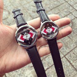 Đồng hồ thời trang dây da nữ giá sỉ