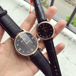 Đồng hồ dây da cặp nam-nữ giá sỉ