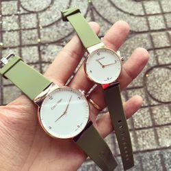 Đồng hồ cao su cặp thời trang nam-nữ giá sỉ