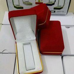 hộp đồng hồ nhung đỏ giá sỉ