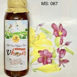 Mật ong hoa nhãn nguyên chất 400gr/chai giá sỉ