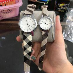 Đồng hồ dây da cặp M30 giá sỉ