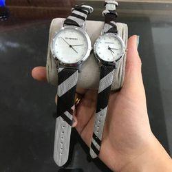 Đồng hồ dây da cặp M30 giá sỉ, giá bán buôn