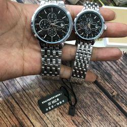 Đồng hồ cặp kim loại M110 giá sỉ, giá bán buôn