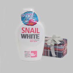 Sữa tắm Snai white nắp trắng 800ml trắng da giá sỉ