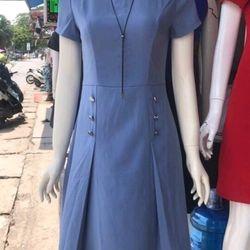 váy liền xếp ly giá sỉ