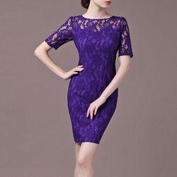 Sale Đồng Gía 139k Đầm ren Purple quyến rũ - TP1357 giá sỉ
