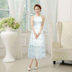 Sale Đồng Gía 139k Đầm ren trắng maxi Dawn - TP1632 giá sỉ