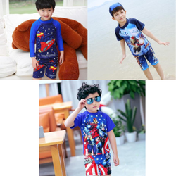 Bộ đồ bơi siêu nhân bé trai giá sỉ